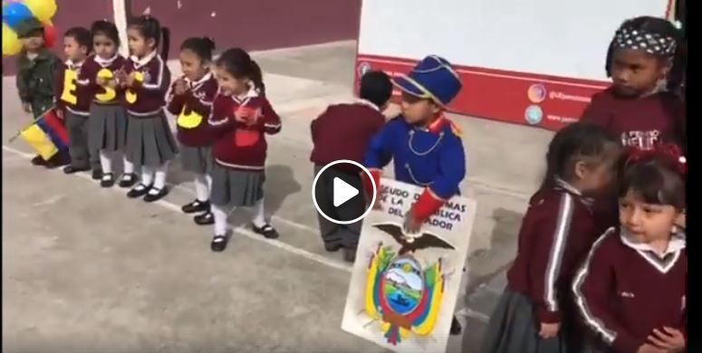 Día del escudo del Ecuador