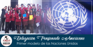 Participación de la delegación de la Unidad Educativa pensionado Americano International School